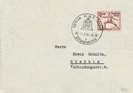 Berlin Olympiade 1936 KdF Stadt Fechten - Alemania