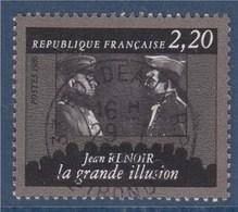 = Cinquantenaire De La Cinémathèque Française, Jean Renoir, La Grande Illusion, 2f20 N°2436 Oblitéré - Usados