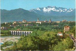 Cuneo - Panorama - Le Alpi - Fg Vg - Cuneo
