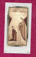 IMAGE PIEUSE...Communion De Daniel ANGOT, Eglise De SAINT PIERRE Du REGARD (61), En 1943...2 Scans - Santini