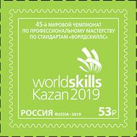 Russia 2019 #2499. 45th WorldSkills Standards Championship MNH - 1992-.... Federación