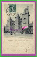 CPA (61 Orne) - ARGENTAN  - Le Palais De Justice - Ancien Chateau- Voyagé Oblitéré 1908 - Argentan