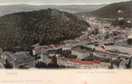 Blick Von Der Franz Josefhöhe Karlsbad Czech Republic - Tchéquie