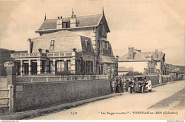 """VIERVILLE-sur-MER : """"les Bergeronnettes"""" - Tres Bon Etat - Francia"""