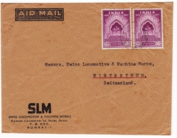 Bombay Inde India SLM Swiss Locomotive & Machine Works Winterthur Switzerland - 1950-59 Republiek