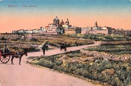 MALTA Citta Vecchia Postcard - Malte