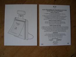 Carte Chanel N°5 - Modernas (desde 1961)