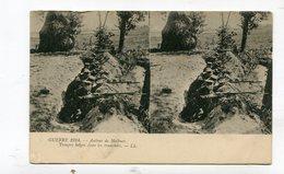 CPA  Militaria : Carte Stéréoscopique De Soldats Belges Près De Malines   A  VOIR  !!!!!!! - War 1914-18