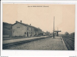 SERS-DIGNAC : Gare De Sers-dignac - Tres Bon Etat - Autres Communes
