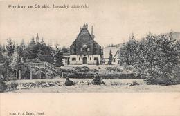 Pozdrav Ze Strašice Lovecky Zamecek - Tchéquie
