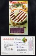 CHOCOLAT - CACAO - COCOA - CHOCOLATE / 2006 CHINE ENTIER POSTAL ILLUSTRE  (ref 528) - Levensmiddelen