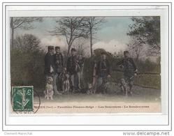FOURMIES - Frontière Franco-Belge - Les Douaniers - Le Rendez-vous - Très Bon état - Fourmies