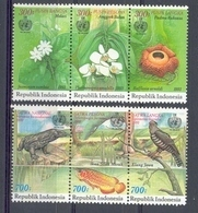 Mgm1541 FLORA FAUNA VOGEL VISSEN REPTIEL BLOEMEN FLOWERS REPTILE FISH BIRDS VARANUS INDONESIA 1993 PF/MNH - Reptilien & Amphibien