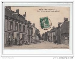 NOTRE-DAME D'ASPRES - Postes Et Télégraphes Et Route De Crulai - Très Bon état - France