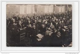 AMIENS : Carte Photo Du Congrès Socialiste En 1914 - Très Bon état - Amiens