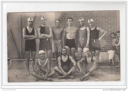 BASTIA : Carte Photo De L'équipe De Water-polo (piscine - Sports) - Très Bon état - Bastia