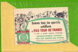 Buvard & Blotting Paper :La Pile TOUR DE FRANCE - Batterie