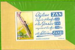 Buvard & Blotting Paper :Reglisse ZAN NECROSCIA EXCELSA - Cake & Candy