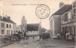 77. N° 101309 .beautheil .pas Courante .la Grande Rue .en L Etat . - Autres Communes