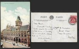 England Town Hall Northampton, Used, 1d, NORTHAMPTON OC 14 07 > Local - Northamptonshire