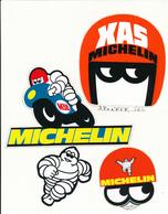 MICHELIN - 4 Autocollants - Stickers