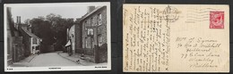 England Leicestershire, Humberstone, , Used, 1d, LEICESTER  AUG 9  1932, > Middlesex - England