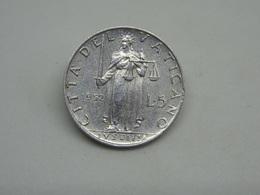 Moneta Città Del Vaticano 5 Lire 1952 Pivs XII - Vaticano