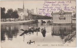 Somme :  Amiens :  Vue  Départ  Des  Hortillons - Amiens