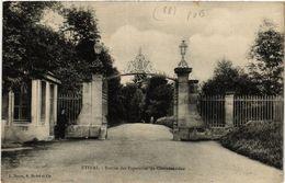 CPA ÉTIVAL - Entrée Des Papeteries De Clairefontaine (456085) - Etival Clairefontaine