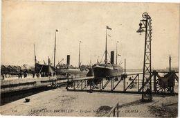 CPA LA PALLICE-ROCHELLE - La Quai Nord Et Le Paquebot - Oravla (183864) - La Rochelle