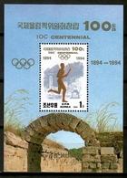 Korea 1994 Corea / IOC Centennial Olympics Committee MNH Centenario COI Olimpiadas / Cu12834  36-22 - Olympische Spiele