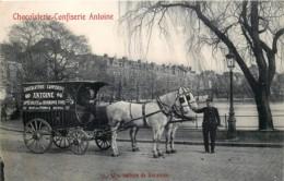 Bruxelles-Ixelles - Série Complète De La Chocolaterie-Confiserie ANTOINE - Ixelles - Elsene