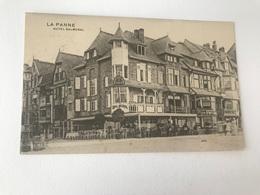 La Panne De Panne   Hotel Balmoral - De Panne