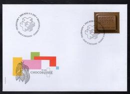 CACAO - COCOA - CHOCOLAT  - CHOCOLATE / 2001 SUISSE - PREMIER JOUR ILLUSTRE (ref 937) - Levensmiddelen
