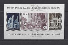 Belgique:BF 30 * - Blocks & Kleinbögen 1924-1960
