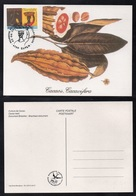 CACAO - COCOA - CHOCOLAT  - CHOCOLATE / 1999 BELGIQUE - CARTE MAXIMUM PREMIER JOUR ILLUSTREE (ref 1493) - Levensmiddelen