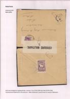 BRIEFOMSLAG LEGERPOSTERIJ 4 OP 29.VII.1918 NAAR HULST -WITTE SLUITSTROOK 5 PARAF CENSOR EN CENSUUR FOLKESTONE - Autres Lettres
