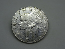 Moneta Austria 10  Shilling 1957 - Republik Osterreich Schilling - Austria