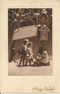 """Cartolina """"Buon Natale"""", Gruppo Di Bambini (S17) - Noël"""
