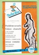 Revue MEDICALIA - Docteur Charles Fouquet - Sujets Abordés Liés à La Sexualité - Photos érotiques - 3 Scans - Médecine & Santé