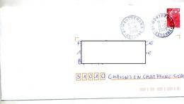 Lettre Cachet Montgeron A - Marcofilie (Brieven)