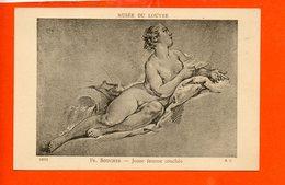 Femme - Nu - Peintre FR. Boucher- Jeune Femme Couchée - Tableaux