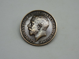 Moneta Farthing Gregore V 1913 England - Altri