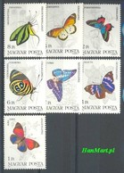 Hungary 1984 Mi 3681-3687 MNH ( ZE4 HNG3681-3687 ) - Papillons
