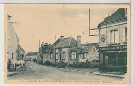37 - LA CHAPELLE BLANCHE ST MARTIN -  La Rue Principale, Arrivée Par Manthelan - Andere Gemeenten