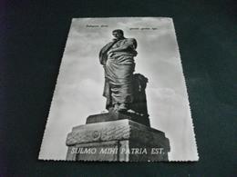 MONUMENTO  OVIDIO SULMONA AQUILA SULMO MIHI PATRIA EST PELIGNAE DICAR GLORIA GENTIS EGO BILLENARIO - Monuments