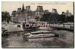 Paris - 4 - Hotel De Ville - CPA - District 04