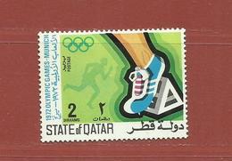 Qatar N° 175 B ** Jeux Olympiques Munich 1972 - Qatar