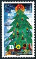 ST-PIERRE ET MIQUELON 2010 - Yv. 990 **   Cote= 2,20 EUR - Noël. Sapin Et Bougies  ..Réf.SPM11597 - Ungebraucht