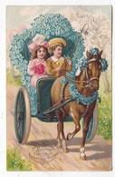Carte Postale  Gaufrée Bonne Année - Anno Nuovo